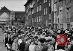 Image of Surplus food distributed for starving East Germans Germany, 1951, second 61 stock footage video 65675072259