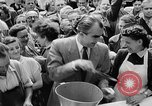 Image of oranges and cherries Berlin Germany, 1951, second 34 stock footage video 65675072260