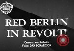 Image of revolt Berlin Germany, 1951, second 1 stock footage video 65675072262