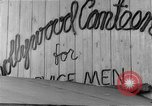 Image of Hollywood Canteen Hollywood Los Angeles California USA, 1943, second 19 stock footage video 65675072274
