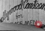 Image of Hollywood Canteen Hollywood Los Angeles California USA, 1943, second 27 stock footage video 65675072274