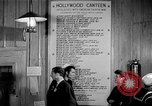 Image of Hollywood Canteen Hollywood Los Angeles California USA, 1943, second 30 stock footage video 65675072274