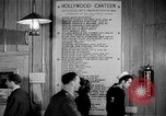 Image of Hollywood Canteen Hollywood Los Angeles California USA, 1943, second 31 stock footage video 65675072274
