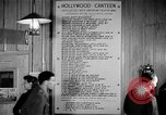 Image of Hollywood Canteen Hollywood Los Angeles California USA, 1943, second 32 stock footage video 65675072274