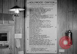 Image of Hollywood Canteen Hollywood Los Angeles California USA, 1943, second 35 stock footage video 65675072274