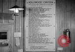 Image of Hollywood Canteen Hollywood Los Angeles California USA, 1943, second 40 stock footage video 65675072274