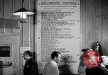 Image of Hollywood Canteen Hollywood Los Angeles California USA, 1943, second 48 stock footage video 65675072274