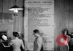 Image of Hollywood Canteen Hollywood Los Angeles California USA, 1943, second 50 stock footage video 65675072274