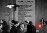 Image of Hollywood Canteen Hollywood Los Angeles California USA, 1943, second 52 stock footage video 65675072274