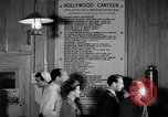 Image of Hollywood Canteen Hollywood Los Angeles California USA, 1943, second 53 stock footage video 65675072274