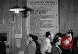 Image of Hollywood Canteen Hollywood Los Angeles California USA, 1943, second 54 stock footage video 65675072274