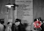 Image of Hollywood Canteen Hollywood Los Angeles California USA, 1943, second 55 stock footage video 65675072274