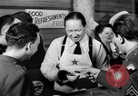 Image of Hollywood Canteen Hollywood Los Angeles California USA, 1943, second 46 stock footage video 65675072277
