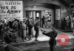 Image of shooting of This is The Army Hollywood Los Angeles California USA, 1943, second 28 stock footage video 65675072280