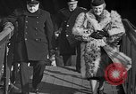 Image of Winston Churchill Glasgow Scotland, 1941, second 38 stock footage video 65675072294