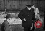 Image of Winston Churchill Glasgow Scotland, 1941, second 48 stock footage video 65675072294