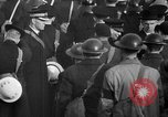 Image of Winston Churchill Glasgow Scotland, 1941, second 62 stock footage video 65675072294
