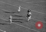 Image of football match West Point New York USA, 1946, second 17 stock footage video 65675072301