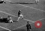 Image of football match West Point New York USA, 1946, second 34 stock footage video 65675072301