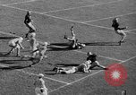 Image of football match West Point New York USA, 1946, second 36 stock footage video 65675072301