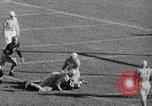 Image of football match West Point New York USA, 1946, second 42 stock footage video 65675072301
