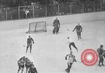 Image of ice hockey match Canada, 1946, second 50 stock footage video 65675072302