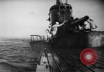 Image of Japanese submarine surfaces Indian Ocean, 1942, second 45 stock footage video 65675072303
