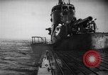 Image of Japanese submarine surfaces Indian Ocean, 1942, second 46 stock footage video 65675072303