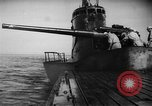 Image of Japanese submarine surfaces Indian Ocean, 1942, second 58 stock footage video 65675072303