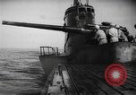 Image of Japanese submarine surfaces Indian Ocean, 1942, second 59 stock footage video 65675072303