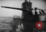 Image of Japanese submarine surfaces Indian Ocean, 1942, second 60 stock footage video 65675072303