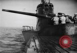 Image of Japanese submarine surfaces Indian Ocean, 1942, second 61 stock footage video 65675072303