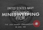 Image of Minesweeping Boat United States USA, 1958, second 10 stock footage video 65675072322