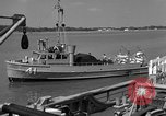 Image of acoustic minesweeping United States USA, 1958, second 52 stock footage video 65675072326