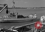 Image of acoustic minesweeping United States USA, 1958, second 54 stock footage video 65675072326