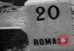 Image of liberation of Rome Rome Italy, 1944, second 27 stock footage video 65675072374