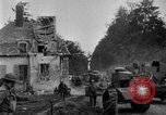 Image of U.S. Infantry and French FT-17 tanks advancing in World War 1 Western Front, 1918, second 15 stock footage video 65675072379