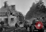 Image of U.S. Infantry and French FT-17 tanks advancing in World War 1 Western Front, 1918, second 16 stock footage video 65675072379
