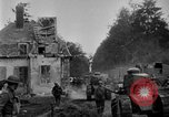 Image of U.S. Infantry and French FT-17 tanks advancing in World War 1 Western Front, 1918, second 17 stock footage video 65675072379