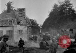 Image of U.S. Infantry and French FT-17 tanks advancing in World War 1 Western Front, 1918, second 21 stock footage video 65675072379