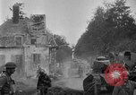 Image of U.S. Infantry and French FT-17 tanks advancing in World War 1 Western Front, 1918, second 24 stock footage video 65675072379