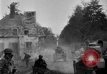 Image of U.S. Infantry and French FT-17 tanks advancing in World War 1 Western Front, 1918, second 26 stock footage video 65675072379