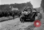 Image of U.S. Infantry and French FT-17 tanks advancing in World War 1 Western Front, 1918, second 38 stock footage video 65675072379