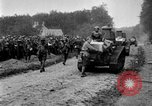 Image of U.S. Infantry and French FT-17 tanks advancing in World War 1 Western Front, 1918, second 39 stock footage video 65675072379