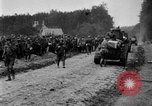 Image of U.S. Infantry and French FT-17 tanks advancing in World War 1 Western Front, 1918, second 42 stock footage video 65675072379