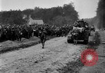 Image of U.S. Infantry and French FT-17 tanks advancing in World War 1 Western Front, 1918, second 43 stock footage video 65675072379