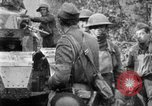 Image of U.S. Infantry and French FT-17 tanks advancing in World War 1 Western Front, 1918, second 48 stock footage video 65675072379