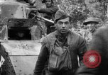 Image of U.S. Infantry and French FT-17 tanks advancing in World War 1 Western Front, 1918, second 50 stock footage video 65675072379