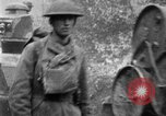 Image of U.S. Infantry and French FT-17 tanks advancing in World War 1 Western Front, 1918, second 56 stock footage video 65675072379