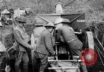 Image of United States Army artillery firing 155mm howitzers Western Front, 1917, second 9 stock footage video 65675072381